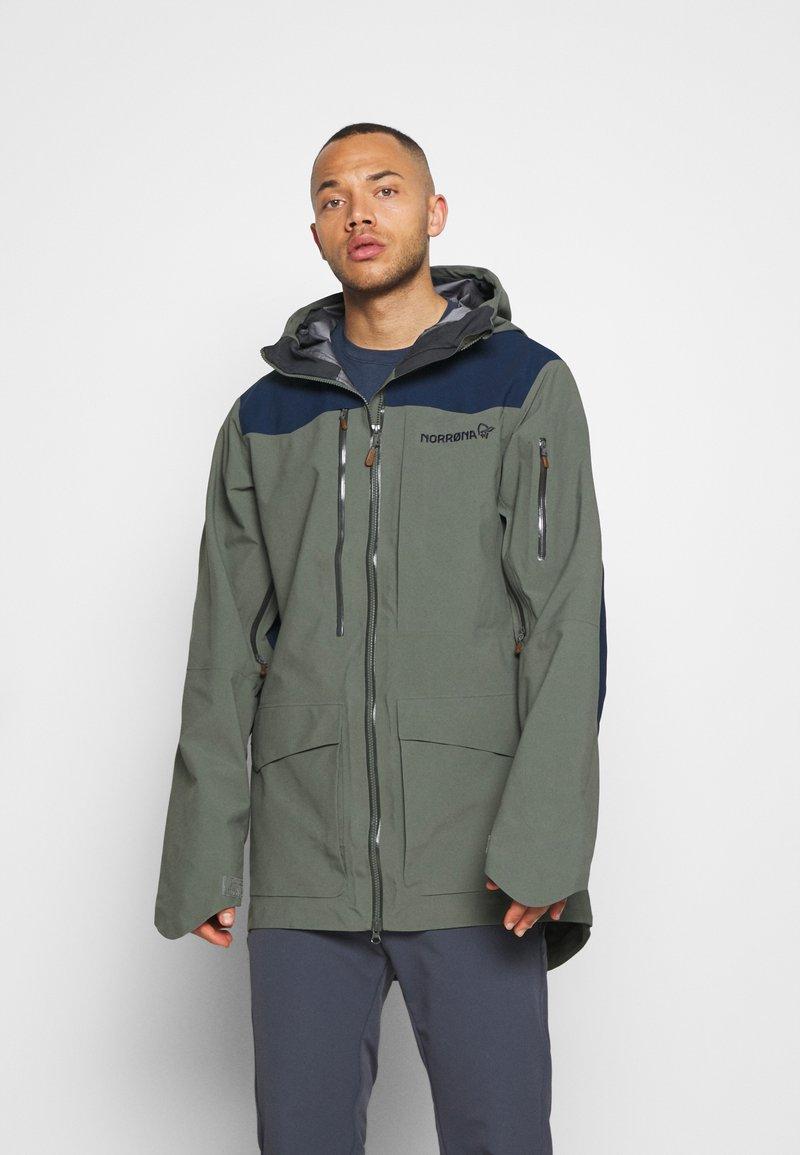Norrøna - TAMOK GORE-TEX PRO JACKET - Hardshell jacket - grey