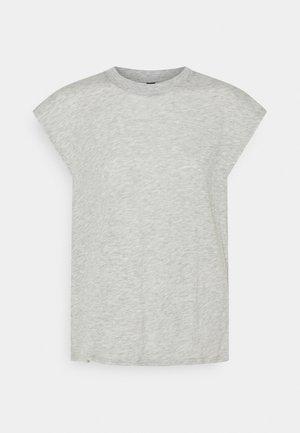 LIFESTYLE SLOUCHY MUSCLE - Basic T-shirt - grey marle