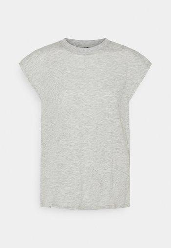 LIFESTYLE SLOUCHY MUSCLE - Camiseta básica - grey marle