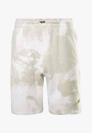MYT ALL OVER PRINT - Pantalón corto de deporte - beige