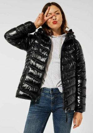 STEPP OPTIK - Winter jacket - schwarz