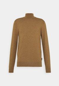 Zign - Stickad tröja - camel - 0
