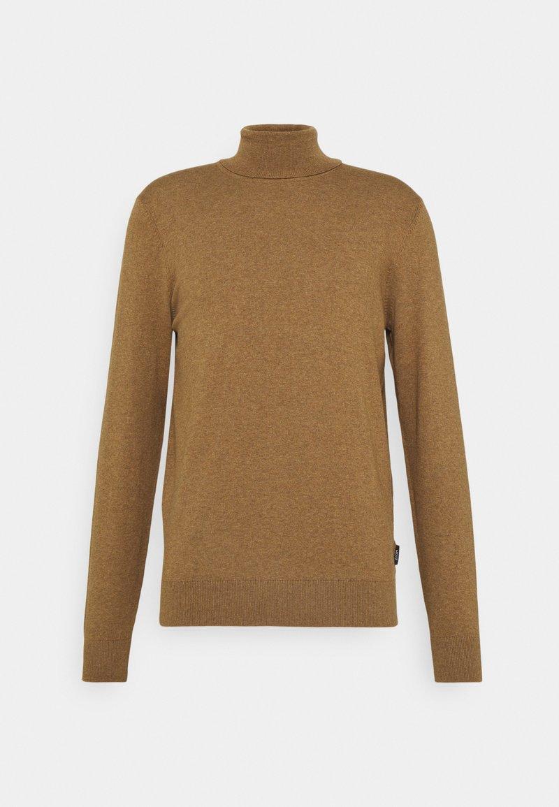 Zign - Stickad tröja - camel
