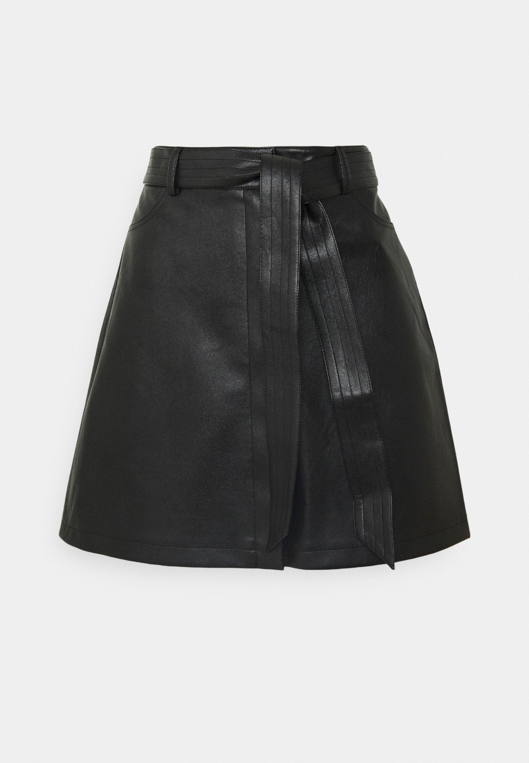 Femme BELTED MINI SKIRT - Minijupe