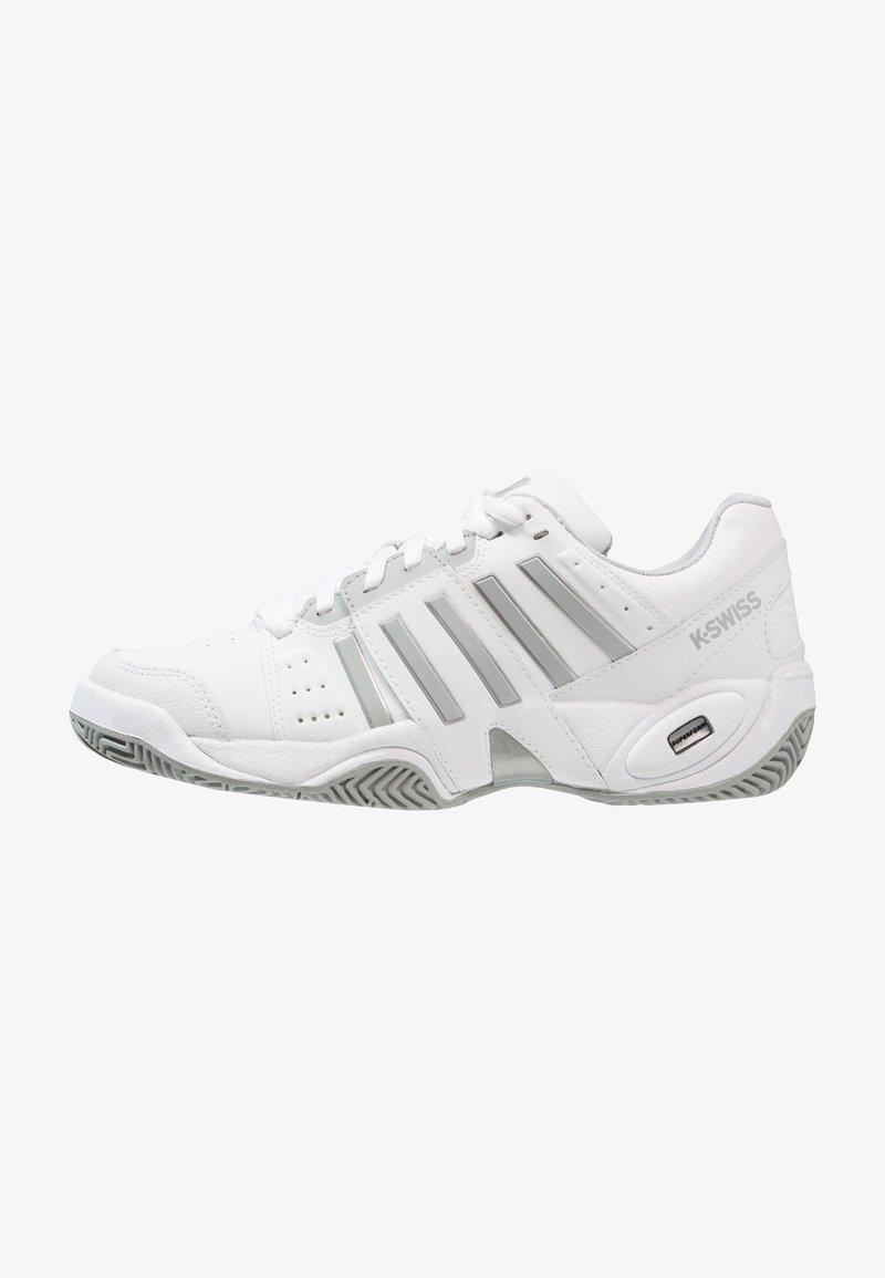 K-SWISS - ACCOMPLISH III - Tenisové boty na všechny povrchy - white/highrise