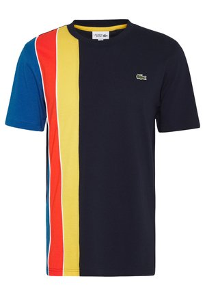 RAINBOW - Camiseta estampada - navy blue/utramarine/gladiolus/wasp/white