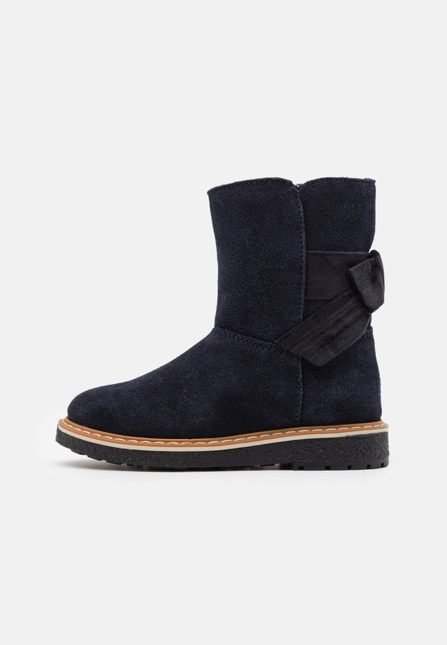 Bottines - dark blue