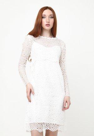 GALERI - Shift dress - weiß