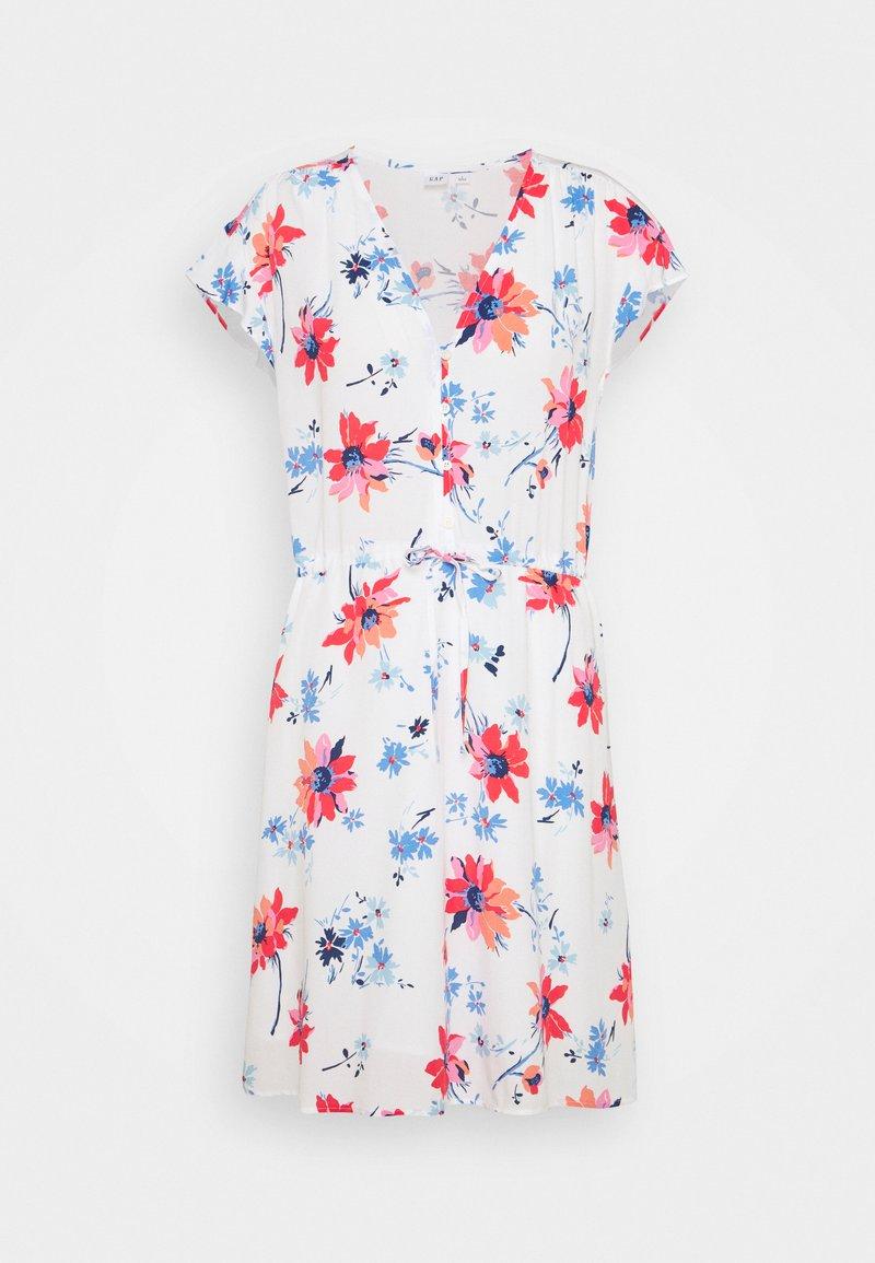GAP - DRESS - Denim dress - white