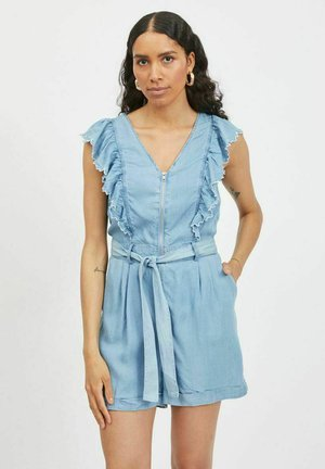 Jumpsuit - medium blue denim