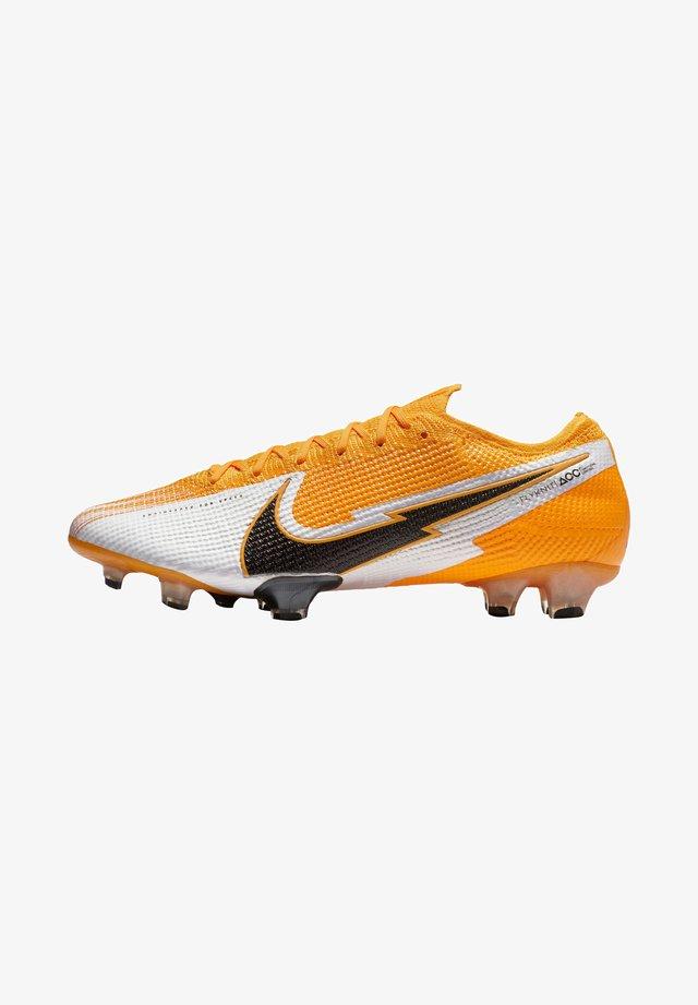 MERCURIAL VAPOR ELITE  - Chaussures de foot à crampons - orange/schwarz