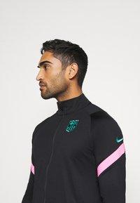 Nike Performance - FC BARCELONA DRY SUIT - Club wear - black/black/pink beam/new green - 4