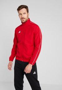 adidas Performance - CORE 18 - Training jacket - powred/white - 0