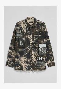 Bershka - Shirt - black - 3