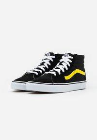 Vans - SK8 - Zapatillas altas - black/blazing yellow/true white - 1