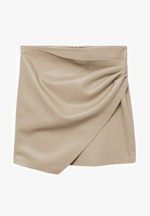 Wrap skirt - licht/pastelgrijs