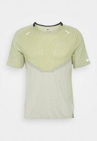 Nike Performance - RUN - T-shirts print - black/lemon twist/iris whisper - 0