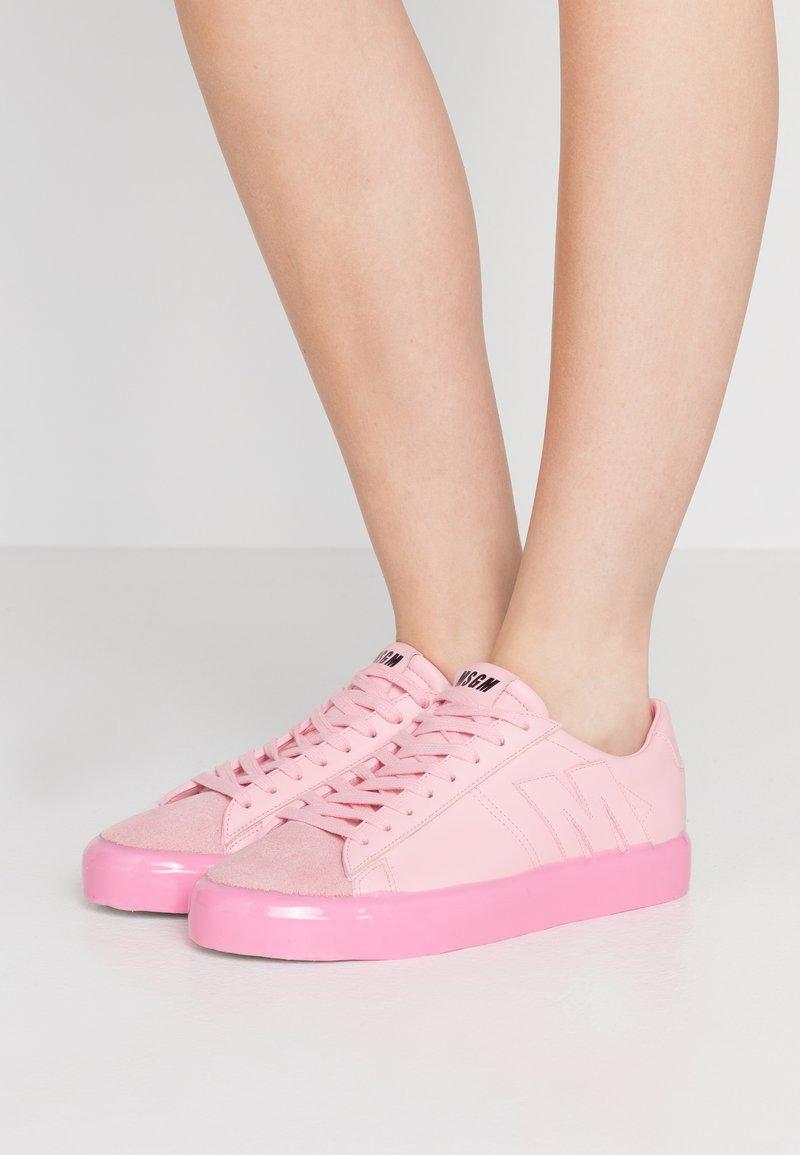 MSGM - SCARPA DONNA SHOES - Tenisky - pink