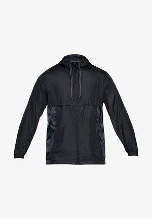 HEATGEAR SPORTSTYLE - Træningsjakker - black/overcast gray