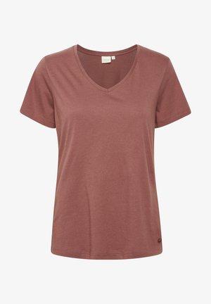 NAIA - Basic T-shirt - antique bordaux