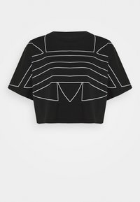 adidas Originals - LOGO TEE - T-shirts print - black/white - 4
