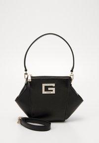 Guess - DINNER DATE MINI SHOULDER BAG - Handbag - black - 0