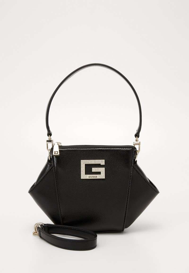 Guess - DINNER DATE MINI SHOULDER BAG - Handbag - black