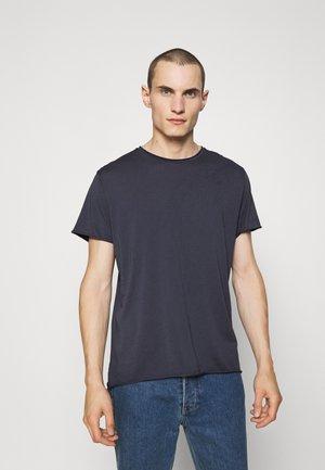 ROLL NECK TEE - Basic T-shirt - storm blue