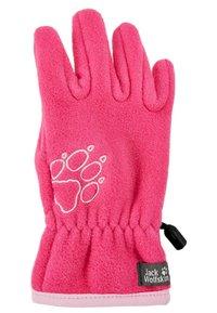 Jack Wolfskin - BAKSMALLA GLOVE KIDS - Gloves - pink fuchsia - 1