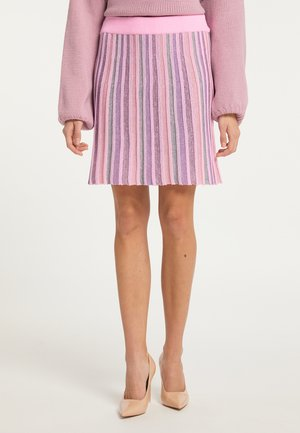 Áčková sukně - rosa