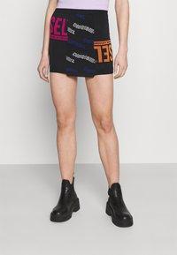 Diesel - M-URA - Mini skirt - black - 0