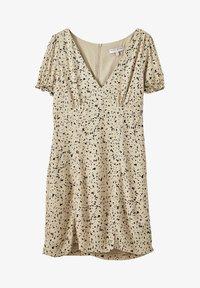 PULL&BEAR - Denní šaty - beige - 4