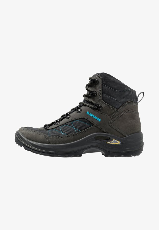 TAURUS II GTX MID - Hiking shoes - anthrazit