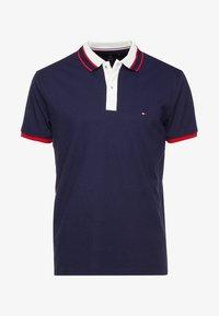 Tommy Hilfiger - CONTRAST PLACKET REGULAR  - Polo shirt - blue - 3