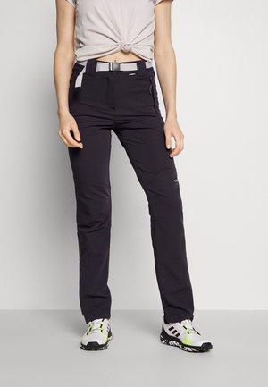 BROMLEY - Pantalones montañeros largos - anthracite