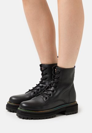 BIRDIE - Lace-up ankle boots - black