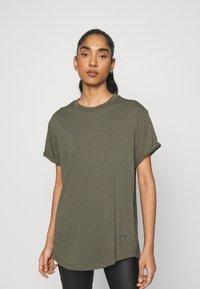 G-Star - LASH FEM LOOSE - Basic T-shirt - combat - 0