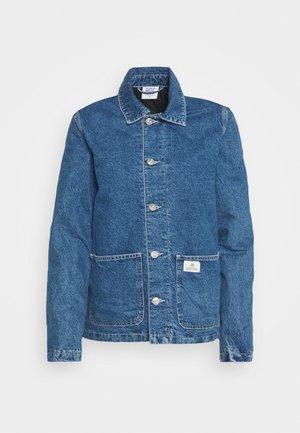 QUILT CHORE JACKET - Denim jacket - dark vintage