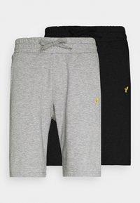 Pier One - 2 PACK - Shorts - mottled light grey - 5