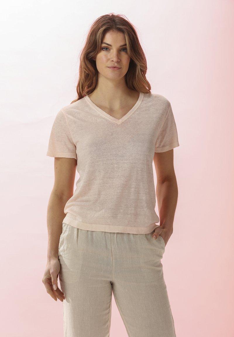 Rosa & Me - LELIA - Basic T-shirt - light blush