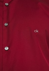 Calvin Klein Tailored - CONTRAST FLOWER PRINT SLIM - Koszula biznesowa - red - 4