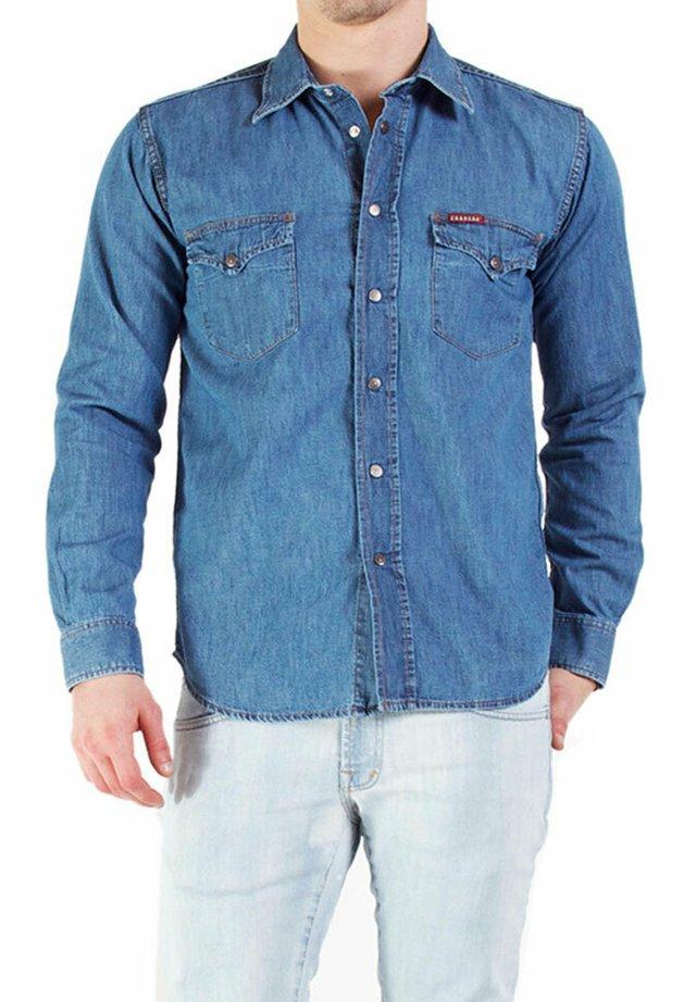 Camicia - lavaggio blu chiaro (super stone wash)