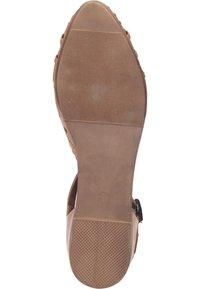 Piazza - Ankle strap ballet pumps - coconut - 3