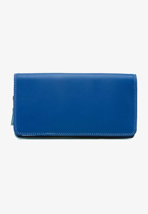 ZIPPED COIN SECTION - Portefeuille - blue