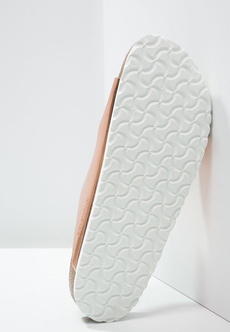 Birkenstock ARIZONA Pantolette flach metallic copper/kupfer