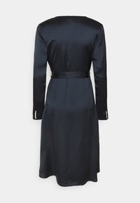NU-IN - BELTED WRAP MIDI DRESS - Cocktail dress / Party dress - black - 7