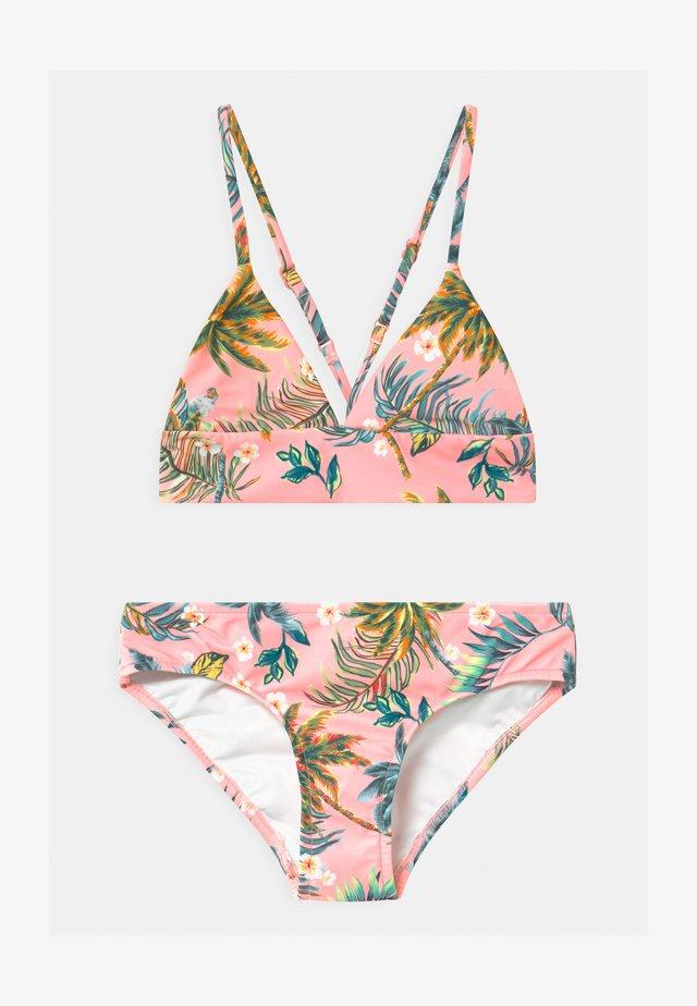 TROPI FUSION SET - Bikini - neon pink
