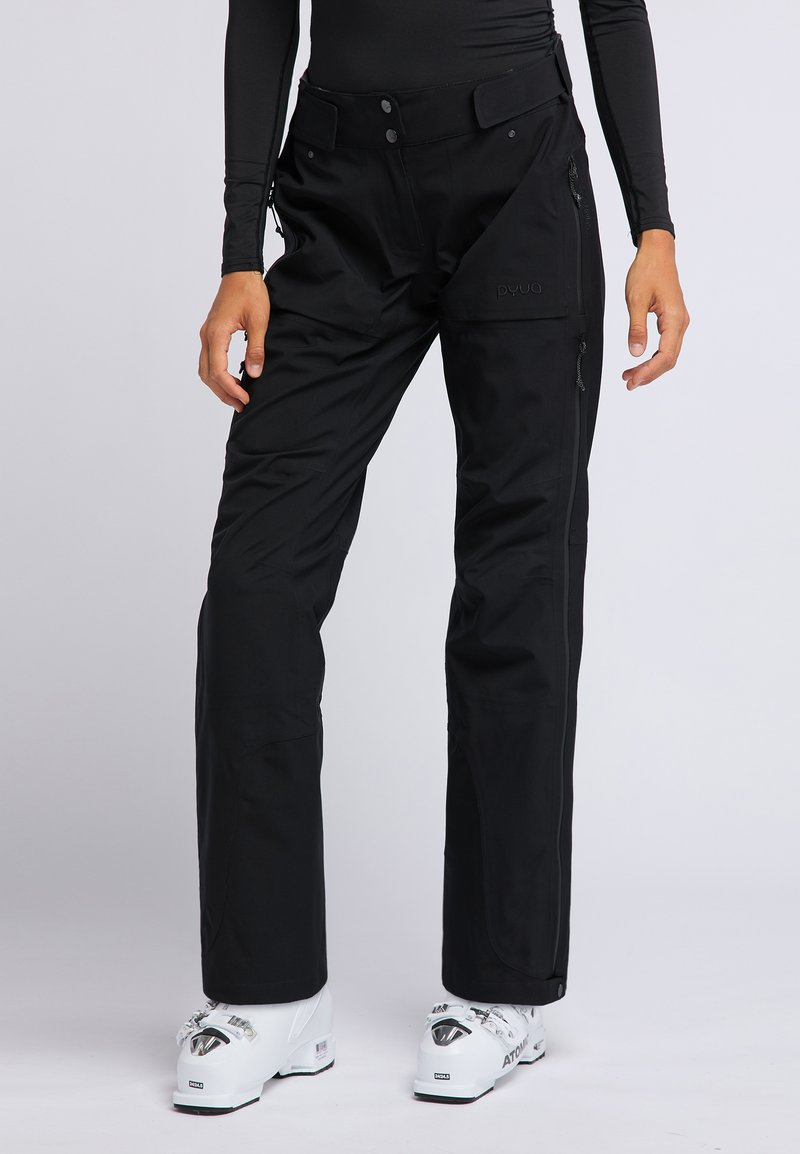 PYUA - RELEASE - Pantaloni da neve - black