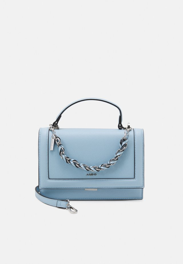 YAEWIA - Håndtasker - cashmere blue/silver