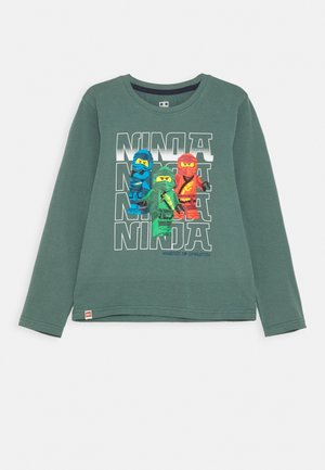 Long sleeved top - mat green